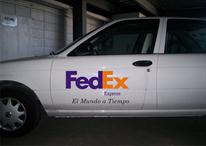 Rotulacion de Vehiculos-Fedex